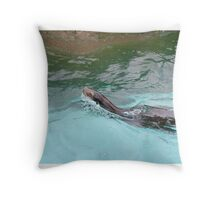 Magestic Sea Lion Throw Pillow