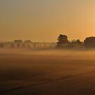 Misty sunrise by Paulo van Breugel