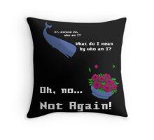 Oh, no... not a Pixelart! Throw Pillow