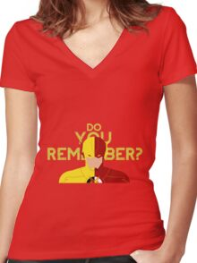 DO YOU REMEMBER? Women's Fitted V-Neck T-Shirt