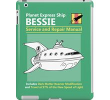Bessie Service and Repair Manual iPad Case/Skin