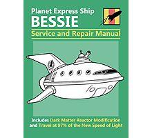 Bessie Service and Repair Manual Photographic Print