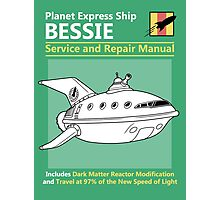Bessie Service and Repair Manual Photographic Print