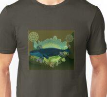 Exhuberant Whale - green Unisex T-Shirt