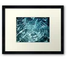The Center of Problems Framed Print