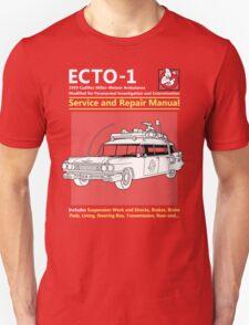 ECTO-1 Service and Repair Manual Unisex T-Shirt