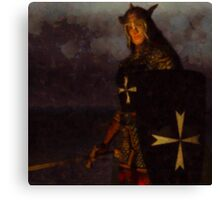 Knight King by Sarah Kirk Canvas Print