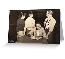 No.3 Benton High School (abt 1955) Greeting Card