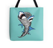 Shark Tornado Tote Bag
