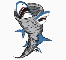 Shark Tornado One Piece - Short Sleeve