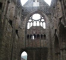 North Transept, Tintagel Abbey by StitchingDreams