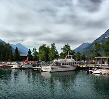 Marina, Waterton Lakes NP, Alberta, Canada by Teresa Zieba