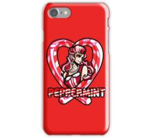 Peppermint Pin up iPhone Case/Skin