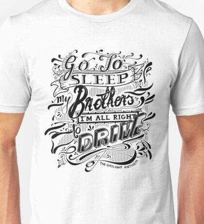 Drive - The Gaslight Anthem Unisex T-Shirt