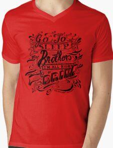 Drive - The Gaslight Anthem Mens V-Neck T-Shirt