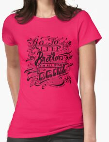 Drive - The Gaslight Anthem Womens Fitted T-Shirt