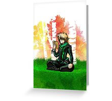 Fall Elf Greeting Card
