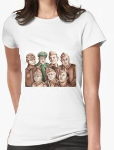 Dad's Army Womens Fitted T-Shirt