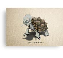 Man Tortoise Metal Print