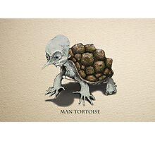 Man Tortoise Photographic Print