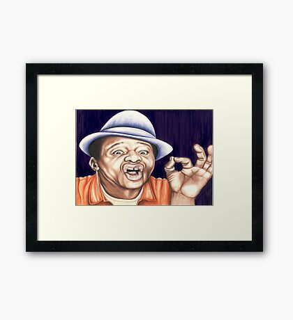 Stephen K Amos Framed Print