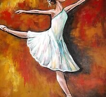 BALLERINA #3 series-After Degas by Pamela Plante