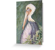 Sanibel Pelican Greeting Card