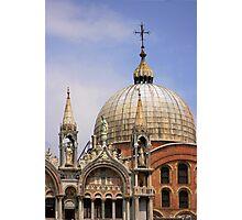 St Mark's Basilica Photographic Print