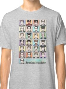 Benedict Cumberbatch Faces Classic T-Shirt