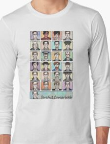 Benedict Cumberbatch Faces Long Sleeve T-Shirt