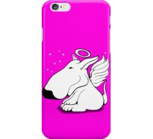 Bull Terrier Angel iPhone Case/Skin