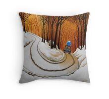 Going on Holiday Throw Pillow