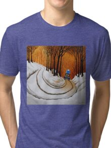 Going on Holiday Tri-blend T-Shirt