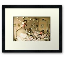 Having a Blast Framed Print