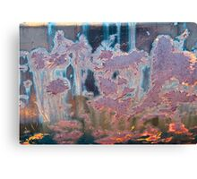 The Swamp Fairies Abstract Canvas Print