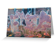 The Swamp Fairies Abstract Greeting Card
