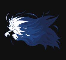 Sonic Flaming Dash Logo One Piece - Long Sleeve