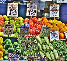 Market Fruit & Veggies by lincolngraham