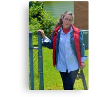 Back to the Future Marty McFly Cosplay Metal Print