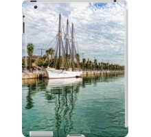 Yachts and Palm Trees - Impressions of Barcelona  iPad Case/Skin
