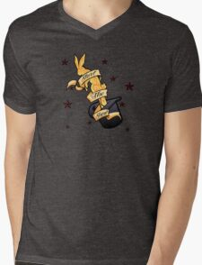 Magic Rabbit Mens V-Neck T-Shirt