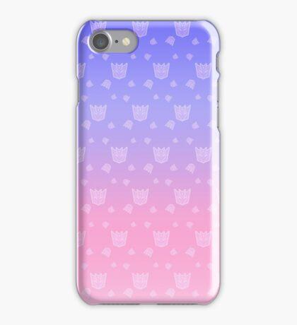 Pastel Decepticons v.2.0 iPhone Case/Skin