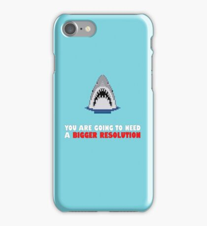 You are going to need a bigger resolution iPhone Case/Skin