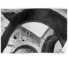 Arches of Roman History Poster