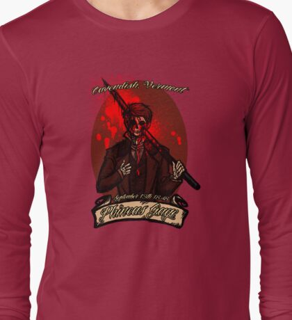 Phineas Gage Long Sleeve T-Shirt