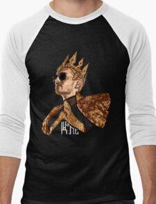 King Bill - White Text Men's Baseball ¾ T-Shirt
