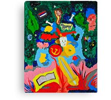 The SWORD of the SPIRIT Abstract Canvas Print
