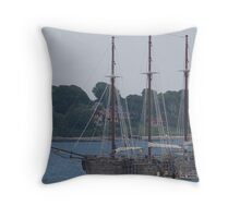 Raw Faith Throw Pillow