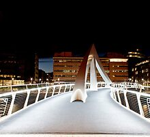 Glasgow squigly bridge by Grant Pennycook