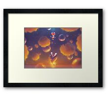 Balloon Flight (only 50!) Framed Print